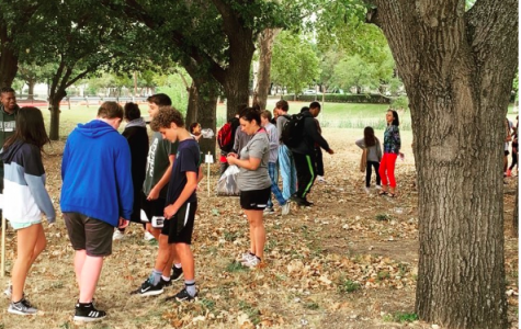 Students at the Wildflower Stomp during HOH time.