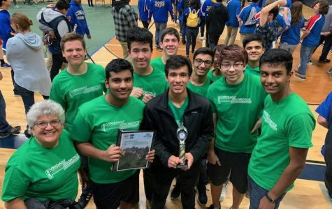 Robotics Team Viridian Wins First Competition of the Season