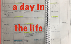 Erin Reynold's manages school with her planner throughout the busy days of virtual classes.