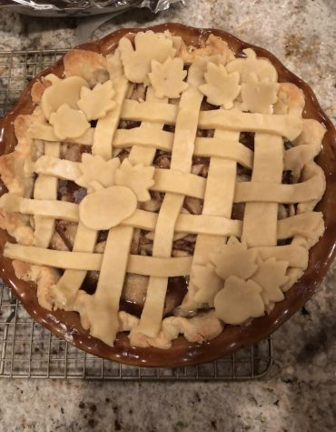 Apple pie is a Thanksgiving staple.