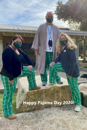 Homecoming Spirit Day 1: PJ Day