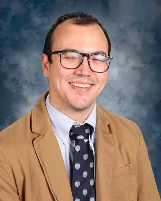 New MS teacher, James Herman.