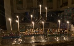 Many celebrate Hannukah with traditional Menorah's.