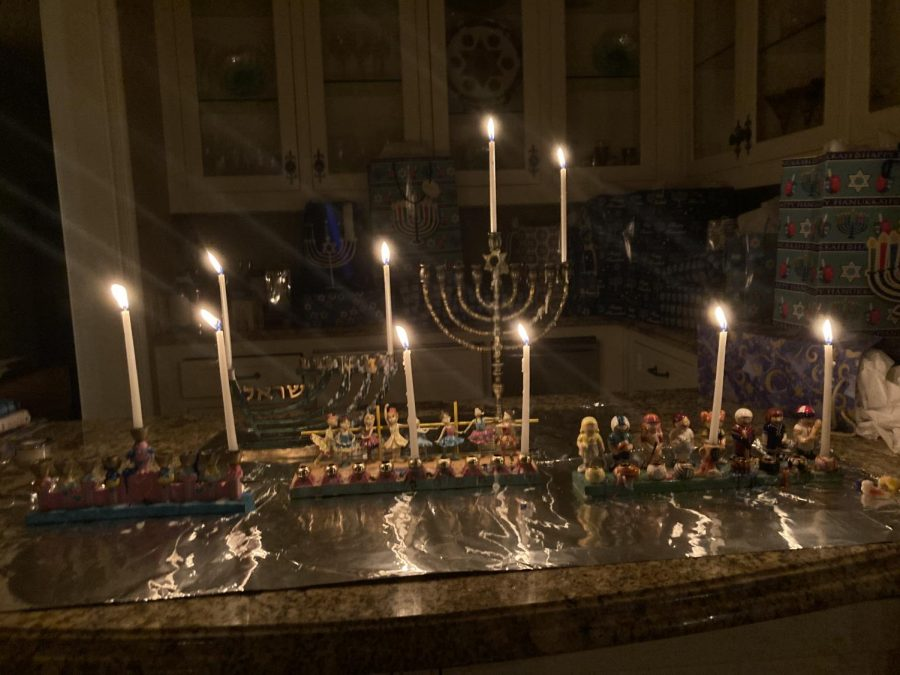 Many celebrate Hannukah with traditional Menorah
