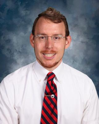 New MS science teacher, Tim Lohr.
