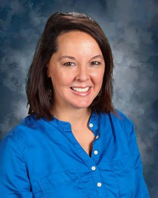 New MS english teacher, Catherine Manna.