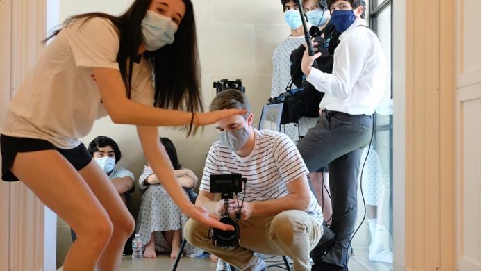 Jessica+Herlitz+works+on+her+film+for+AVP.
