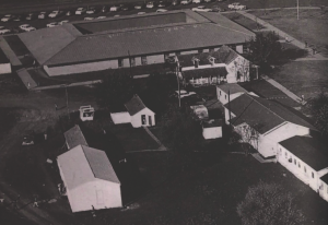 Agnich Science Building when it was first built in 1965.