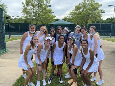 Girls Tennis Team Receives Second Place in Southwest Preparatory Conference Championship