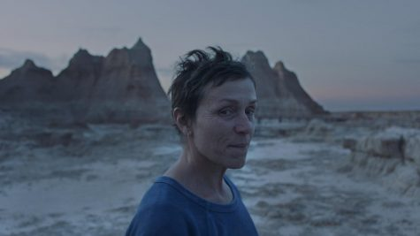 Nomadland, a 2020 American film, wins Academy Award for Best Picture.