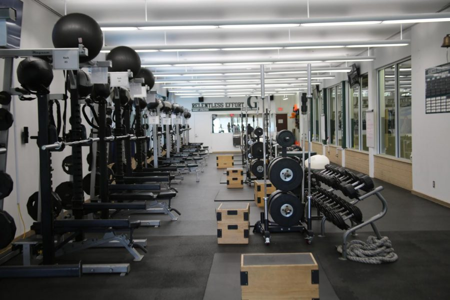 Greenhills High Performance Center without students.