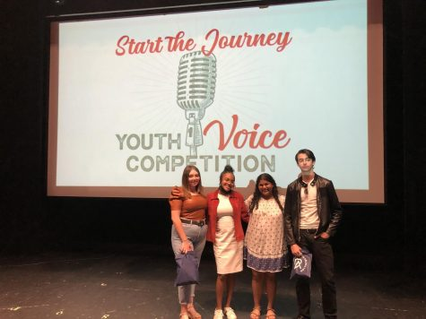 Four Students Compete as Finalists at Start the Journey Voice Competition