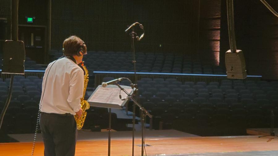 Senior Kaden Nathani Earns First Chair on Tenor Saxophone